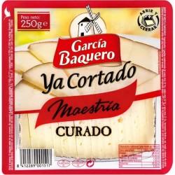 QUESO G.BAQUERO CURADO CORTADO 250G