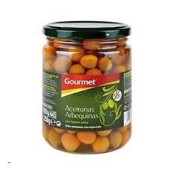 ACEITUNAS ARBEQUINAS GOURMET 420GR