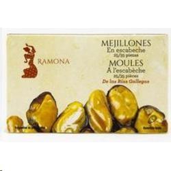 MEJILLONES ESCABECHE RAMONA OL-120