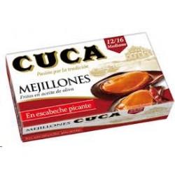 MEJILLONES PICANTES CUCA