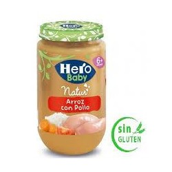 HERO BABY 250 GR.POLLO CON ARR