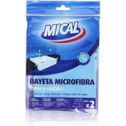 BAYETA MICAL MICROFR.BAÑO 38X40 2U