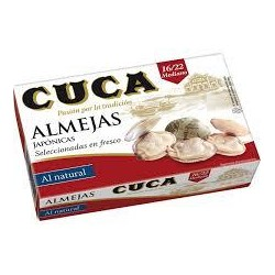 ALMEJAS NATURAL 16/22 CUCA