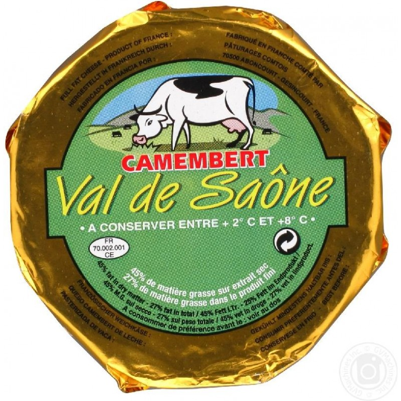 QUESO VAL SAÔNE CAMEMB.240G