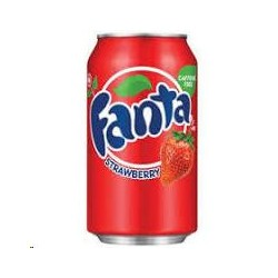 FANTA FRESA - STRAWBERRY LATA