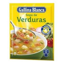 SOPA VERDURAS G.BLANCA