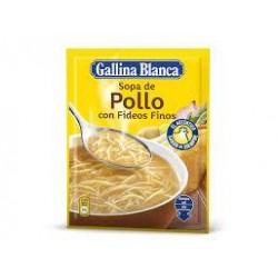 SOPA POLLO CON FIDEOS FINOS G.B.