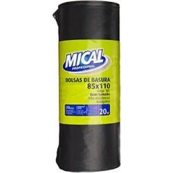 BOLSA BASURA MICAL IND.10UNID.85X110