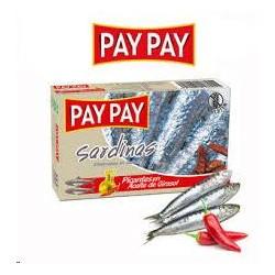 SARDINAS PICANTES ACEITE GIRASOL PAY PAY