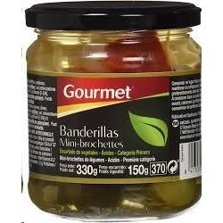 BANDERILLAS GOURMET DULCES 345GR
