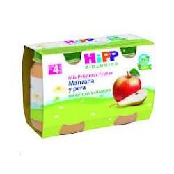 POTITO HIPP MANZANA PERA 2X125GR