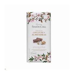 CHOCOLATE 32% CACAO C/ALMEN  S.COLL 100G
