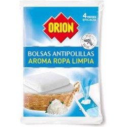 ORION ANTIPOLILLA BOLSA AROMA ROPA LIMPI