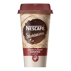 CAFE NESCAFE SHAKISSIMO COOKIES 190ML