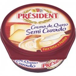 QUESO CREMA PRESIDENT SEMI CURADO 125GR