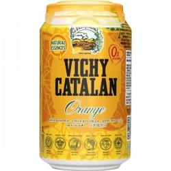 AGUA VICHY CATALAN ORANGE 33CL