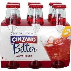 BITTER CINZANO SODA PACK 6 UNID 8.5