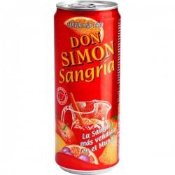 SANGRIA D.SIMON LATA 33CL 7º