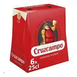 CERVEZA CRUZ CAMPO PACK 6 UNID
