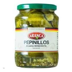 PEPINILLOS MOSCOVITAS FCO.750 ML ARANCA