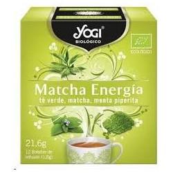 INFU. YOGI MATCHA ENERGIA 21,6G