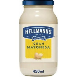 MAYONESA HELLMANS 450 GRS.