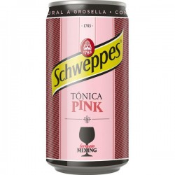 TONICA SCHWEPPES PINK LATA 25 CL