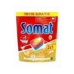 SOMAT TABS ORO 2X1 (18+18)