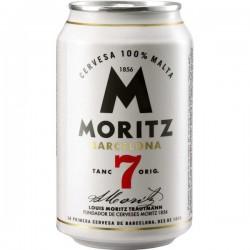 CERVEZA MORITZ 7 LATA 330 ML