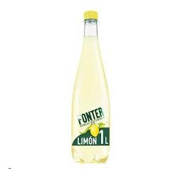 AGUA FONTER C/GAS LIMA LIMON 1L