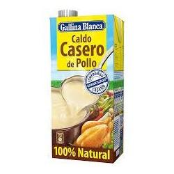 CALDO CASERO POLLO  GALLINA BLANCA 1L