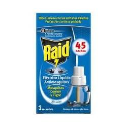 INSECTICIDAA RAID ELECT.RECAMBIO 45