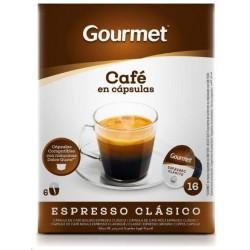 CAFE GOURMET CLASICO CAPSULAS 16 U