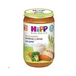 POTITO HIPP VERDURAS Y ARROZ CON PAVO