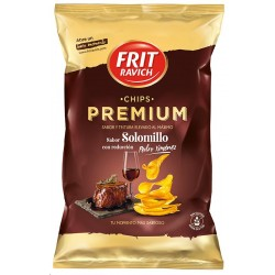 CHIPS PREMIUM SOLOMILLO 160 GRS FRIT RA