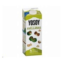 BEBIDA YOSOY ARROZ AVELLANAS 1L
