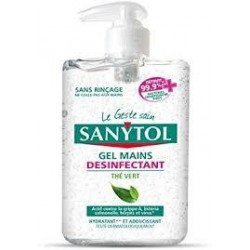 SANYTOL GEL MANOS ANTISEPTICO 250 ML