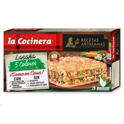LASAÑA COCINERA 5 COLORES 500 GRS