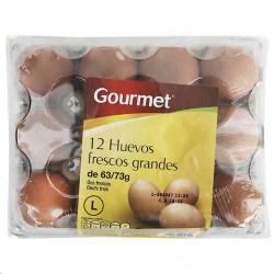 HUEVO GOURMET L 63/73G 1 DOCENA