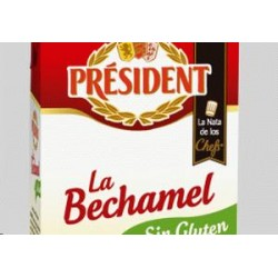 BECHAMEL PRESIDENT S/GLUTEN 500 ML