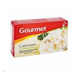 CALAMAR GOURMET ACEITE TROZOS