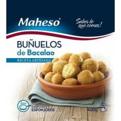 BUÑUELOS DE BACALAO 400G MAHESO
