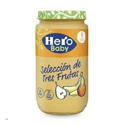 POTITO HERO BABY TRES FRUTAS 250G