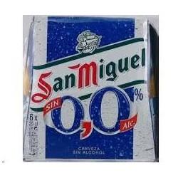 CERVEZA SAN MIGUEL 0.0% 1/4 PACK